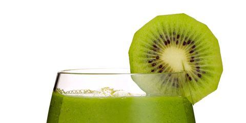 Green, Drink, Glass, Hardy kiwi, Alcoholic beverage, Tableware, Drinkware, Liquid, Fruit, Produce,