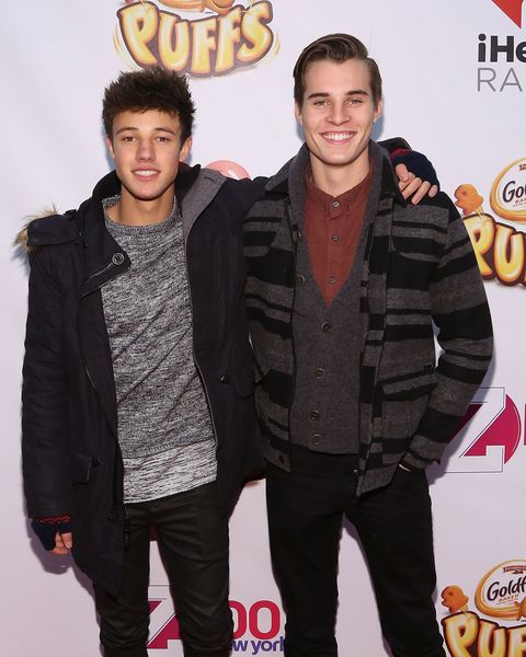 Cameron Dallas and Marcus Johns