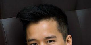 Hair, Ear, Cheek, Hairstyle, Chin, Forehead, Eyebrow, Photograph, Happy, Facial expression,