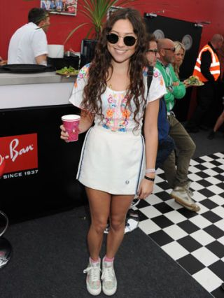 eliza doolittle at ray ban event