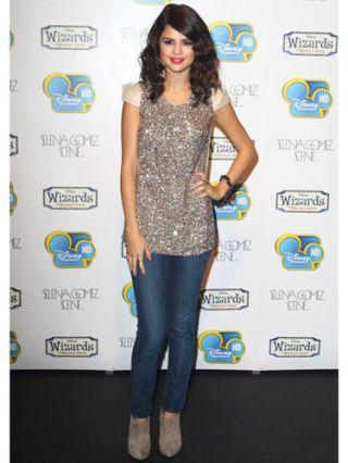 Selena Gomez at a disney show event