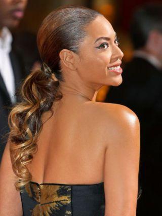 beyonce ponytail har