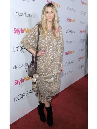 Gillian Zinser at a stylewatcher event
