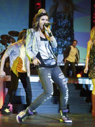 hayley kiyoko on stage