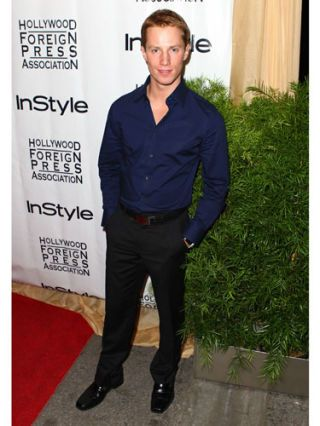 jonathan keltz at an instyle party