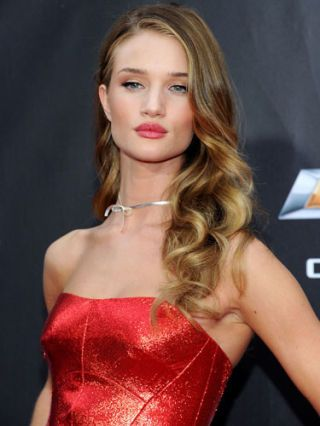 Rosie Huntington-Whiteley at transformers movie event