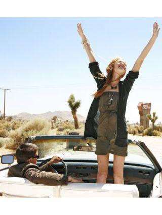 Girl on a Roadtrip