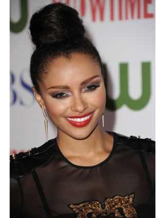 Kat Graham at the CW and Showtime TCA party