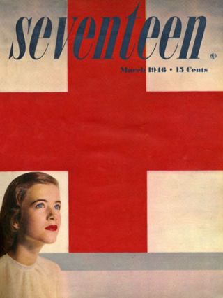 Vintage dutch seventeen magazine