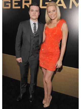 Elizabeth Banks and Josh Hutcherson