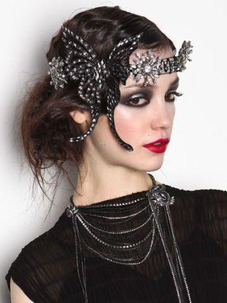 Clothing, Lip, Hairstyle, Eyebrow, Eyelash, Style, Headgear, Hair accessory, Beauty, Fashion,
