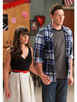Glee's Rachel and Finn
