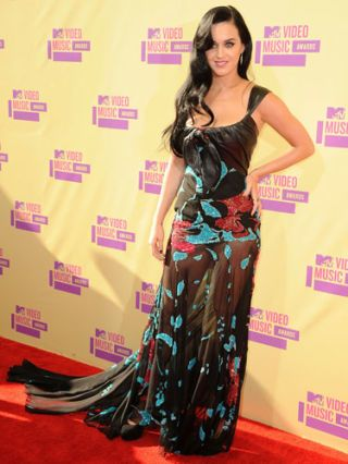 Katy Perry at the 2012 MTV VMA's