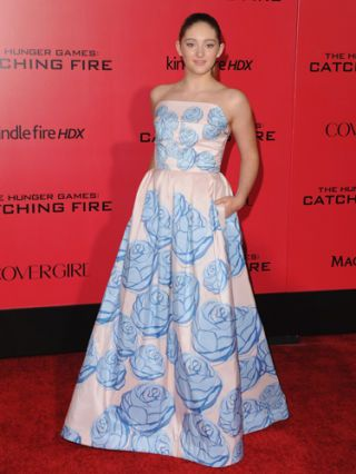 Willow Shields - Catching Fire Premiere