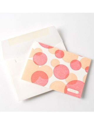 Pink, Pattern, Paper product, Paper, Peach, Polka dot, Wallet, Heart,