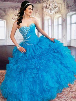 ff389327754 Blue Quince Dresses - Best Blue Quinceanera Dresses