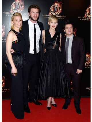 Catching Fire Premiere Red Carpet Pics Catching Fire Premiere