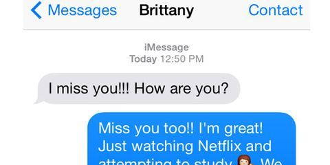 teasing text messages