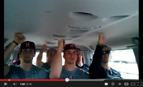 Harvard Baseball Call Me Maybe