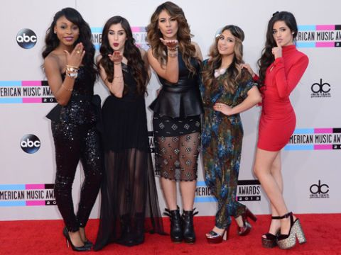 Fifth Harmony's Red and Black Looks
