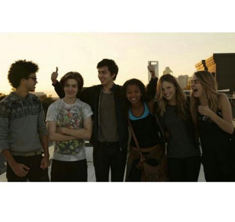 Hair, People, Social group, Photograph, Standing, Friendship, Khaki, Youth, Waist, Beige,