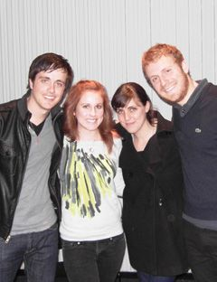 megan cahn and molly kissler with will anderson and nate mcfarland of parachute
