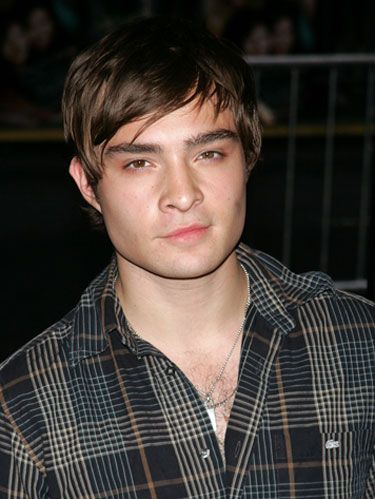 ed westwick first kiss