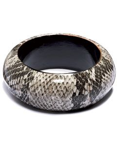 snakeskin bangle