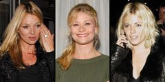 emilie de ravine sienna miller and kate moss with the capricorn symbol