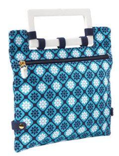 old navy blue print bag