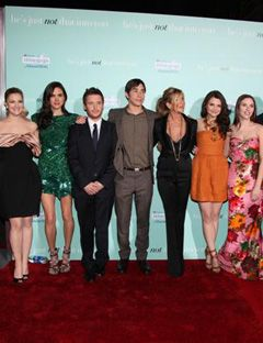 cast members of he's just not that into you on the red carpet