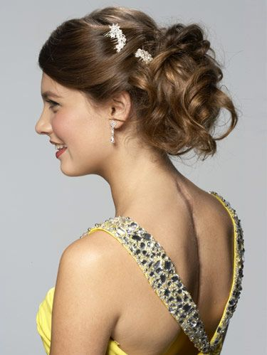 Ponytail Hairstyles Prom Hair
