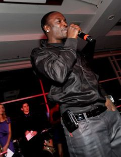 akon at the ultimate prom 2009