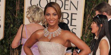 Beyoncé at the 2009 Golden Globes