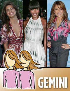 adriana lima naomi campbell and paula abdul with the gemini sign
