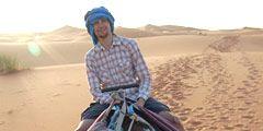 guy on a camel