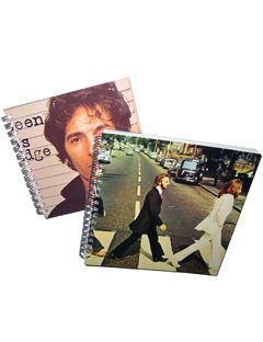 album cover sketchbooks