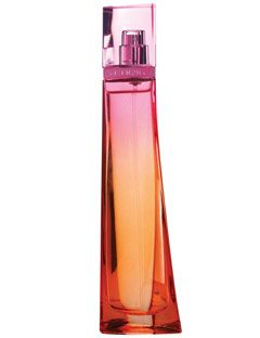 bright bottle of perfume