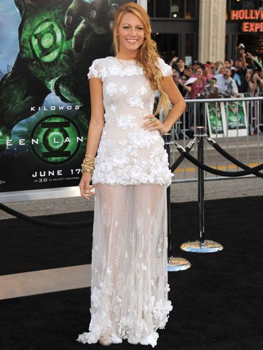 blake lively at green lantern movie premiere