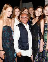 Max Azria with Models