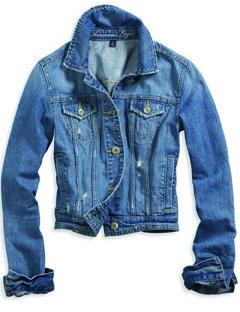 Clothing, Blue, Product, Jacket, Collar, Sleeve, Denim, Textile, White, Outerwear,