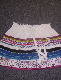 swell multi colored skirt