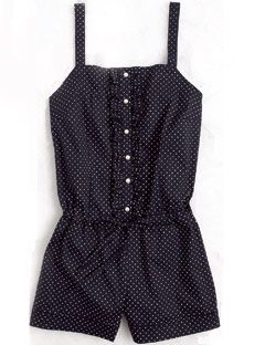 polka dot blue and white jumper