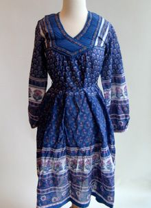 paisley dress from beyond vintage