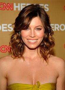 jessica biel at the 2008 cnn heroes event
