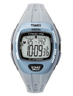 timex silver heart rate monitor