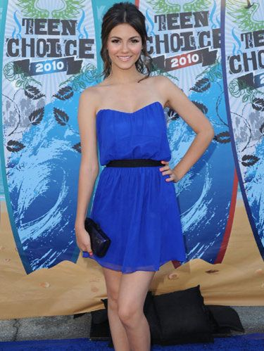 victoria justice teen choice awards 2010