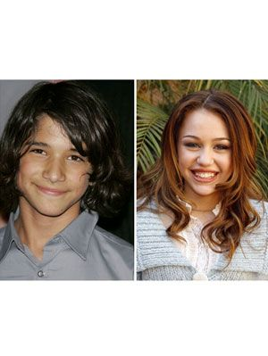 young tyler posey and young miley cyrus