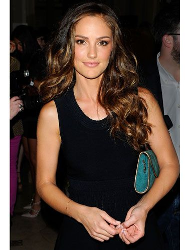 minka kelly at Salvatore Ferragamo event