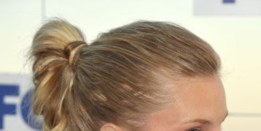 Heather Morris at fox all star party